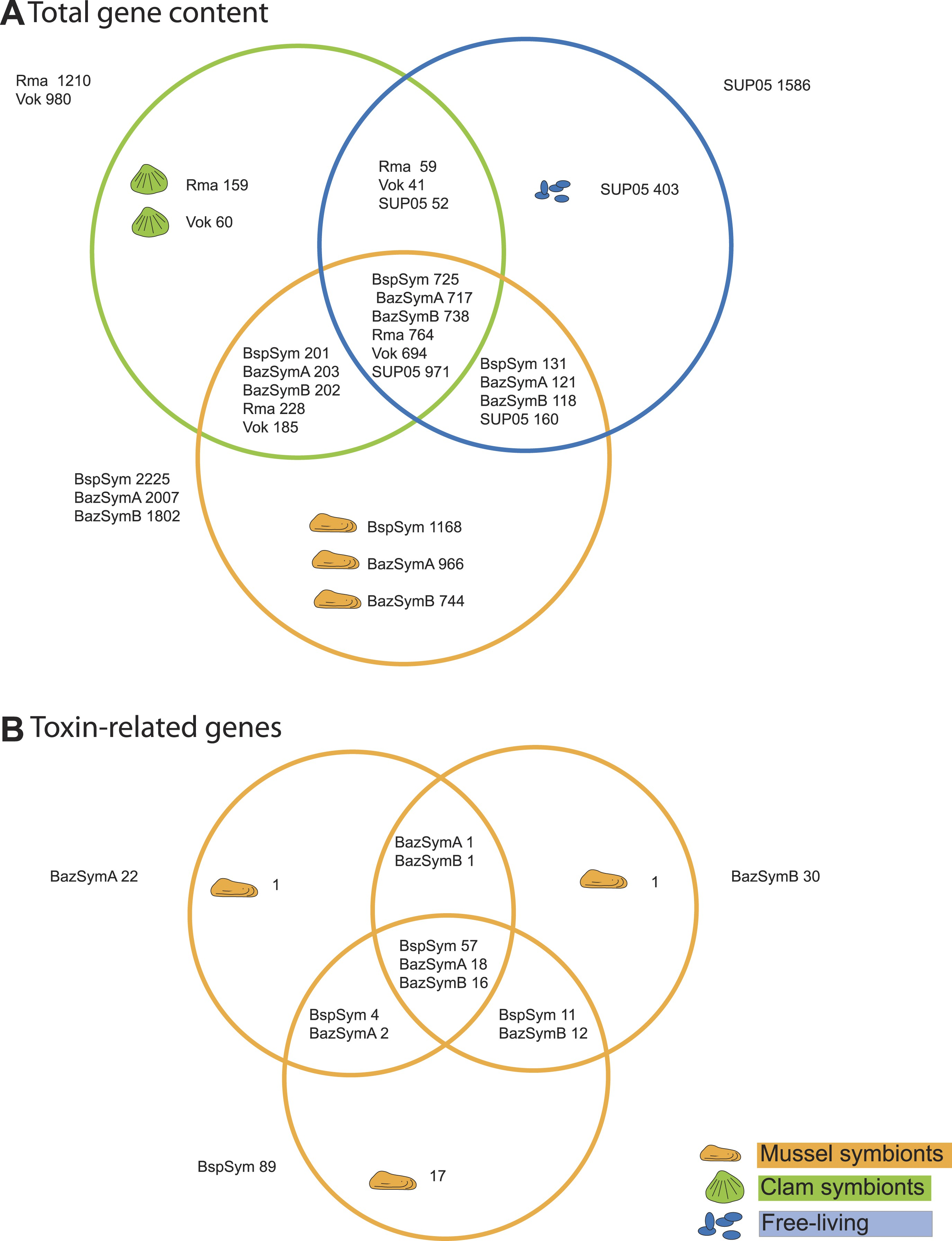 Abundant toxin related genes in the genomes of beneficial download asset open asset pooptronica